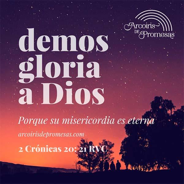 demos alabanza a nuestro dios reflexion cristiana de aliento