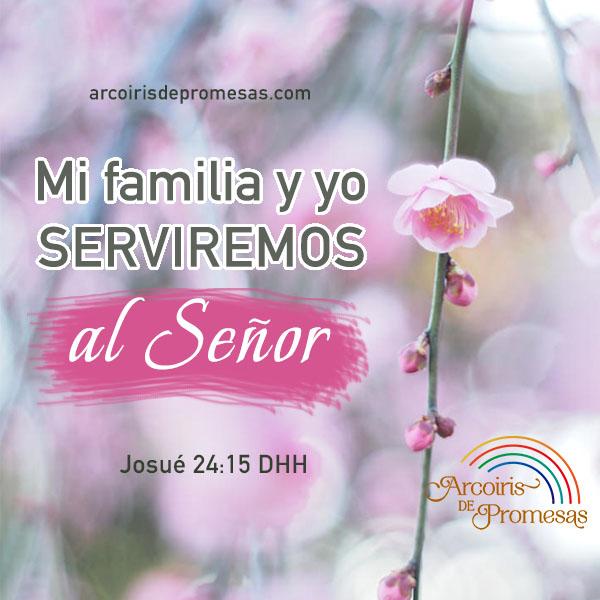 mi familia para cristo mensaje cristiano para la familia