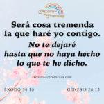 Tremendas cosas hará Dios en ti