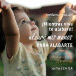 Alza tus manos al Señor