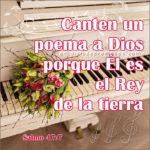 Cántale a Dios
