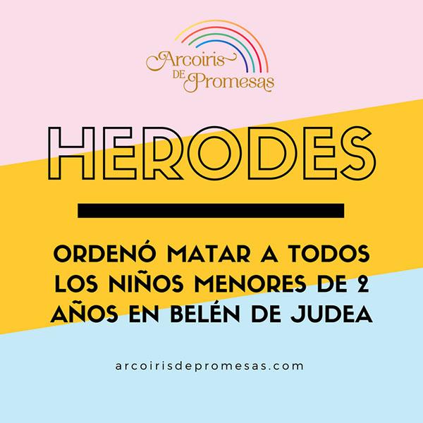 herodes curiosidades biblicas