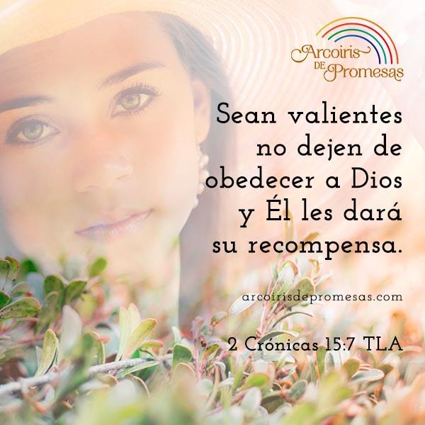 la obediencia a dios tiene recompensa mensaje cristiano de aliento para mujeres