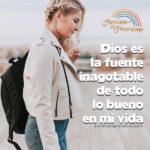 Dios es fuente inagotable de vida