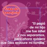 La restauración familiar solo viene de Dios