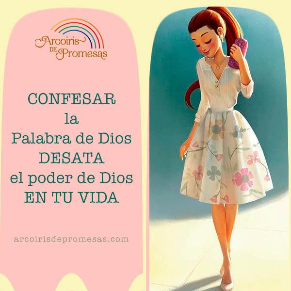confiesa la palabra de dios sobre tu vida mensaje de aliento para la mujer cristiana