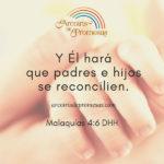 Reconciliación entre padres e hijos