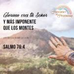 Dios es más grande que tus montañas