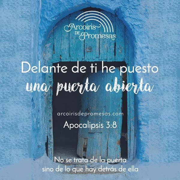 una puerta abierta para ti promesas de dios