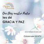 Gracia y paz: Regalo especial para los hijos de Dios