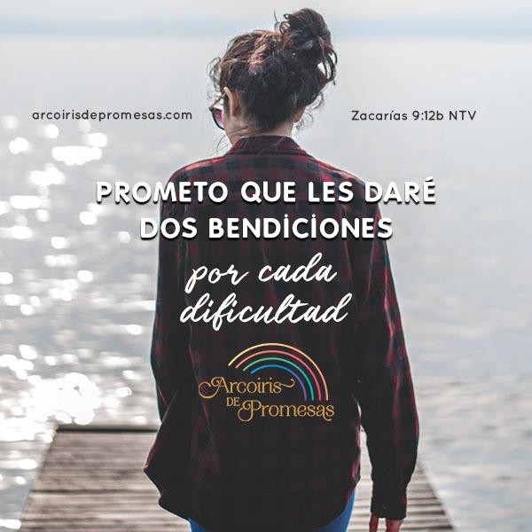 dios te dara doble bendicion mensaje de aliento para la mujer cristiana