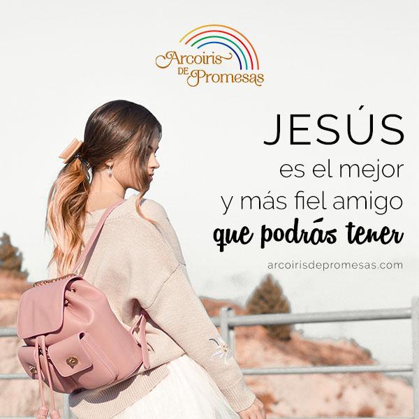 jesus es tu fiel amigo mensaje cristiano de aliento