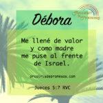 Débora: Una madre para su pueblo